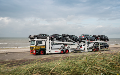 Pon vergroent transport met biodiesel