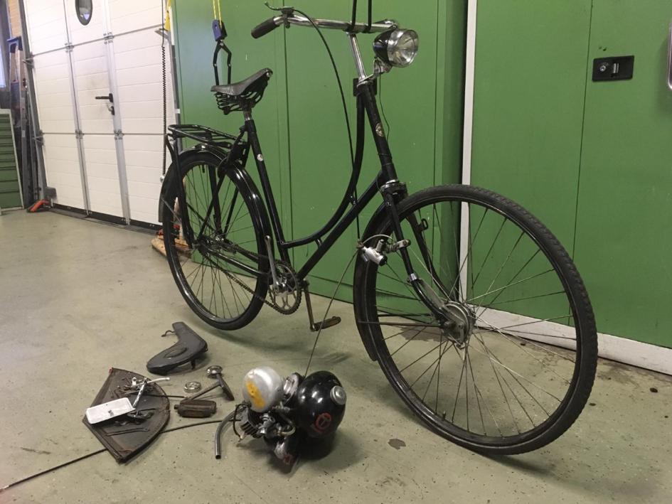 Oude fietsen opknappen 3