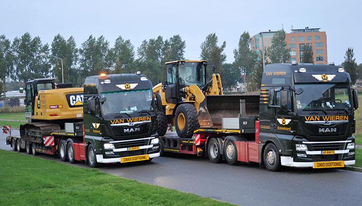 Zwaar transport - Van Wieren