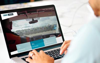 Nieuwe website voor Pon Logistics